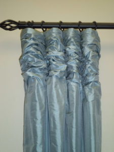 Ruched-pleat