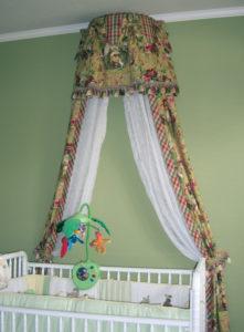 Crib-canopy